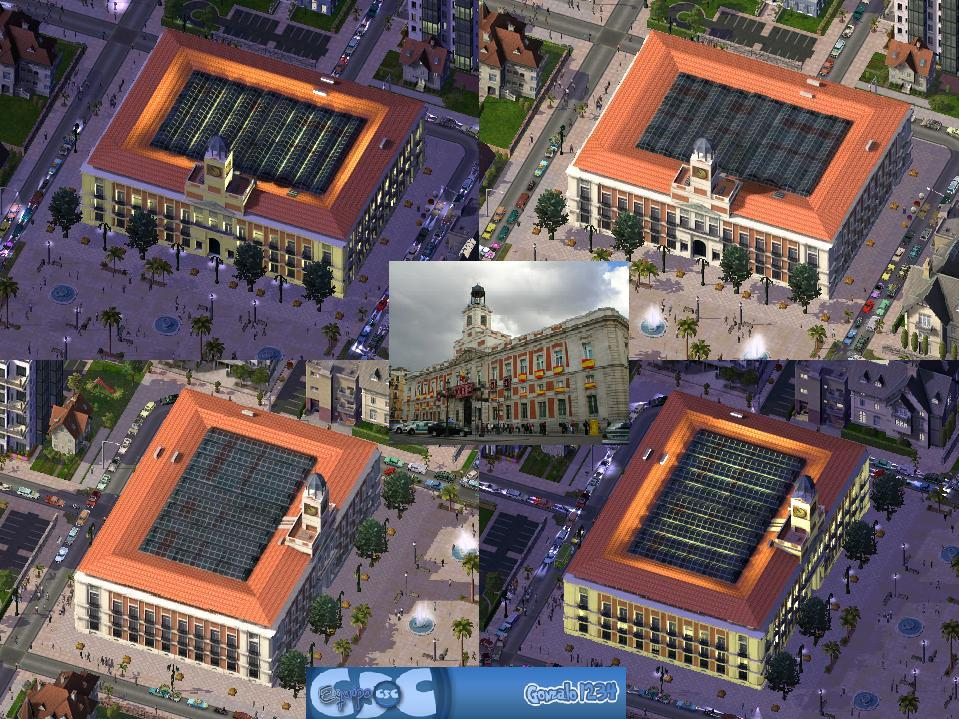 Real casa de correos descargas capital simcity for Casa de correos