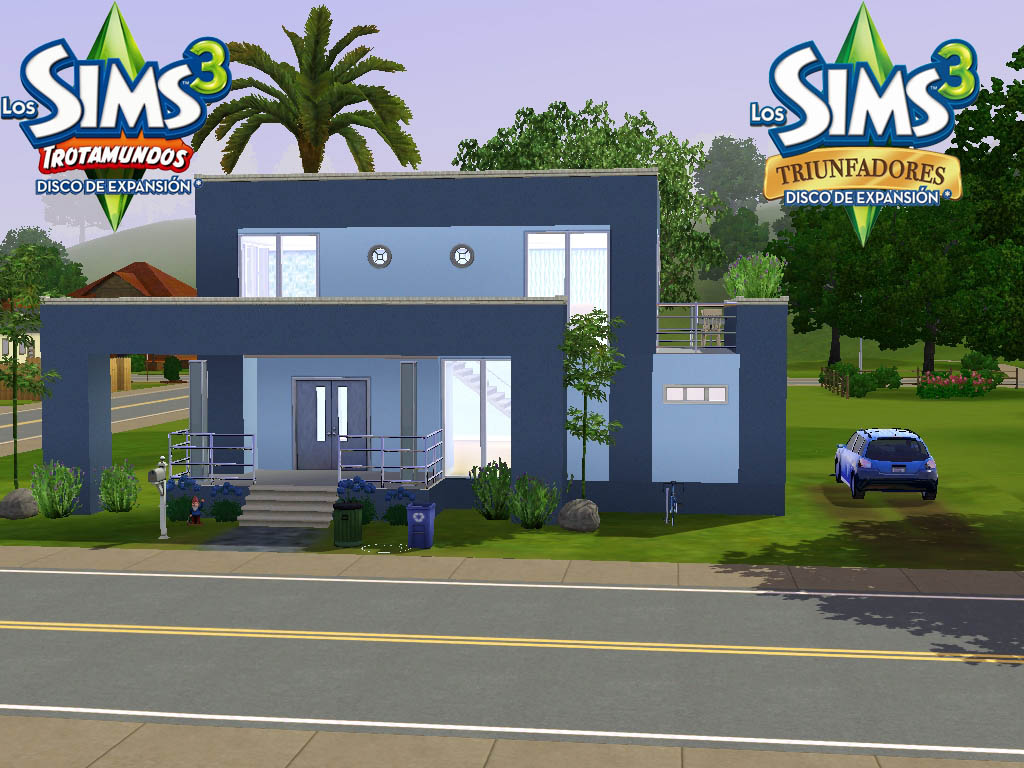 Foto for Casa moderna sims 3 sin expansiones