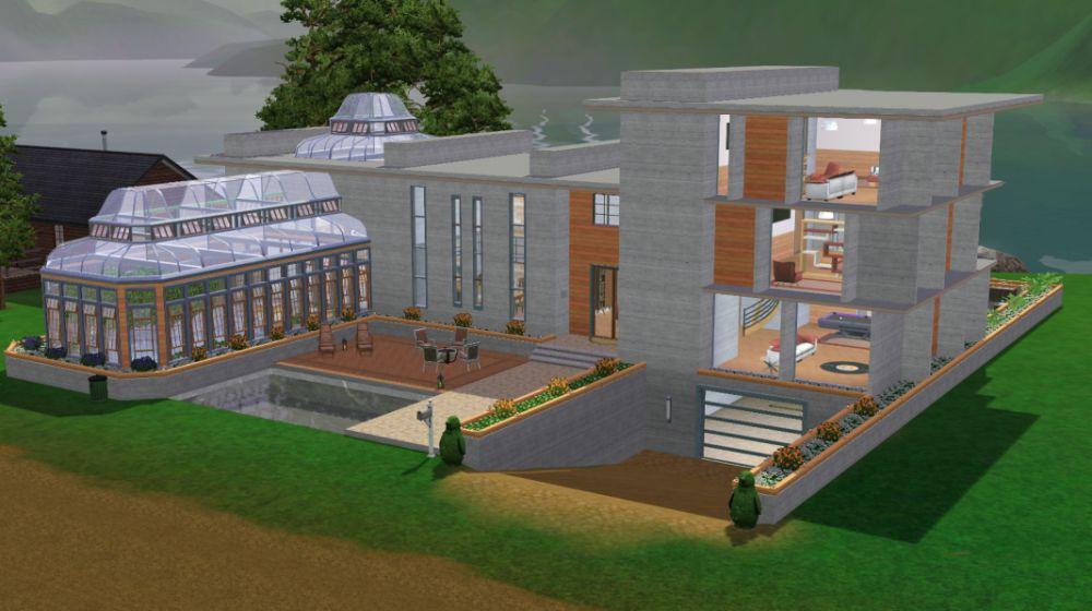 Dise Os Piscina Sims 4 Casa Dise O
