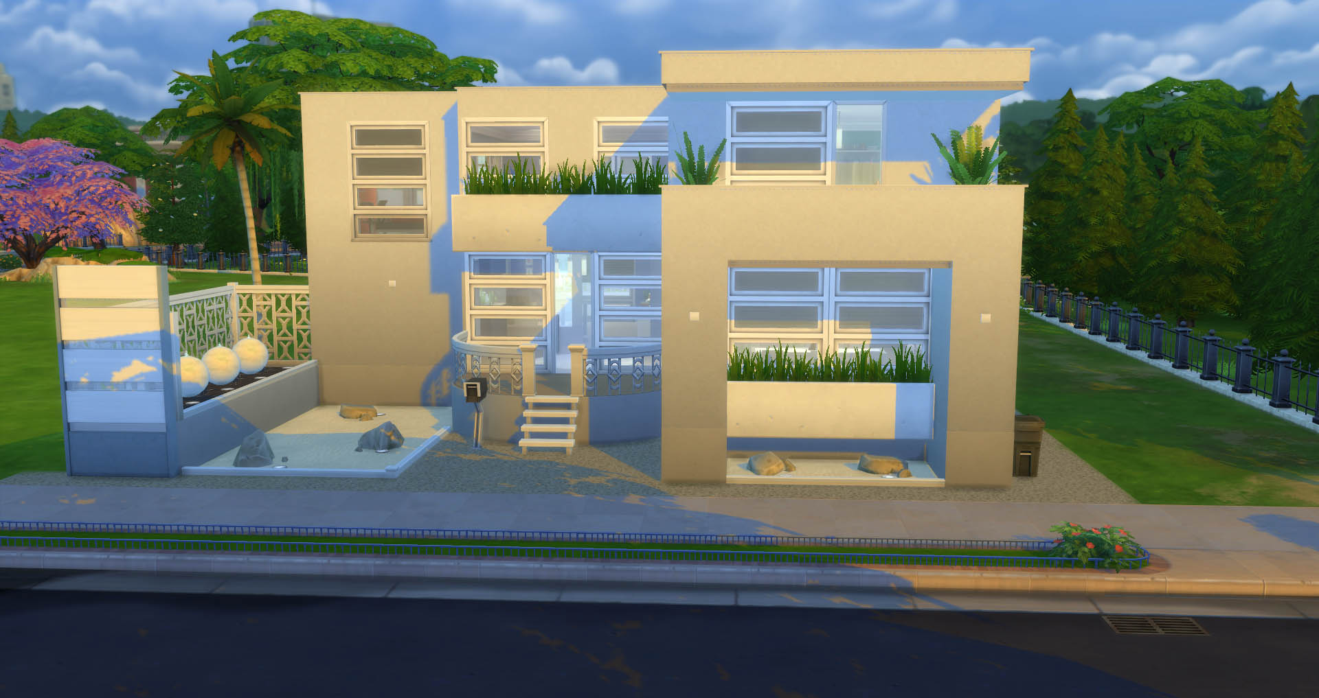 Lotes y barrios descargas capital sims for Casas modernas sims 4 paso a paso