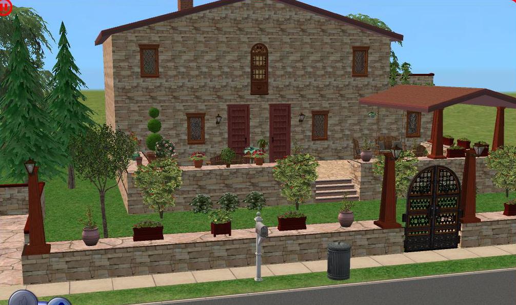 Casa de campo la toscana descargas capital sims for La casa toscana tradizionale