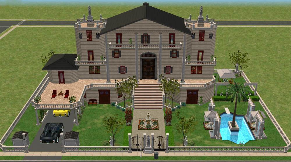 Residenciales descargas capital sims for Sims 2 mansiones y jardines
